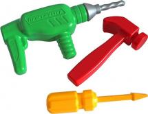 Инструменты Пластмастер Папин помощник 3 предмета