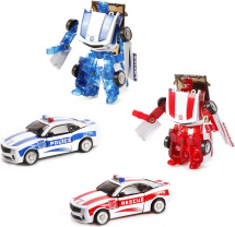 Трансформер Робот-Машина Пламенный мотор Космобот спецтранспорт