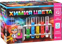 Набор для опытов Master IQ2 Юный Химик Химия цвета