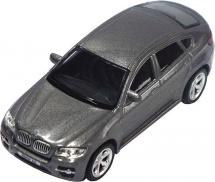 Машинка AutoTime BMW X6, серый