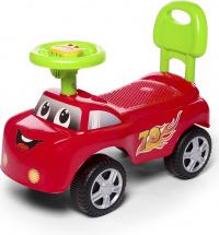 Каталка Baby Care Dreamcar музыкальный руль, красный