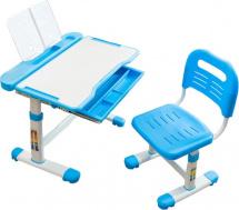 Парта растущая FunDesk Cubby Vanda Blue со стульчиком