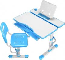 Парта растущая FunDesk Cubby Botero Blue со стульчиком