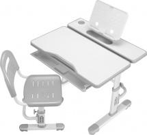 Парта растущая FunDesk Cubby Botero Grey со стульчиком