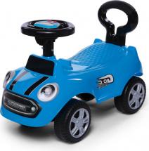 Каталка Baby Care Speedrunner музыкальный руль, синий