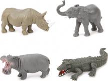 Фигурки Дикие животные Jungle animal 4 шт