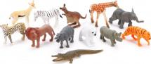 Фигурки Дикие животные Jungle animal 12 шт