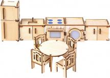 Мебель для кукольного домика Большой слон Кухня