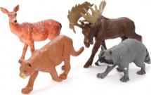 Фигурки Jungle animal Дикие животные-1 4 шт