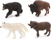 Фигурки Jungle animal Дикие животные-2 4 шт