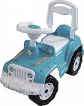Машина-каталка Орион Супер Сафари, голубой (уценка)
