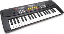 Синтезатор Bigfun 37 клавиш с микрофоном, черный