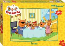 Пазлы Steppuzzle Три кота 160 элементов