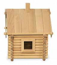Конструктор деревянный Стругъ Избушка 83 детали