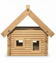 Конструктор деревянный Стругъ Дача 119 деталей