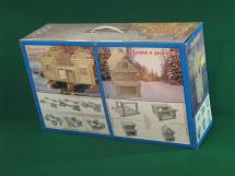 Конструктор деревянный Стругъ Крепость 304 детали