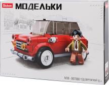Конструктор Sluban Классический транспорт. Mini 150 деталей