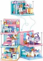Конструктор Sluban Кукольный дом. Ванная комната 105 деталей