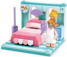 Конструктор Sluban Кукольный дом. Спальня 109 деталей