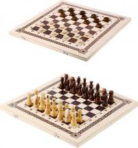 Настольная игра 2в1 Шахматы и шашки