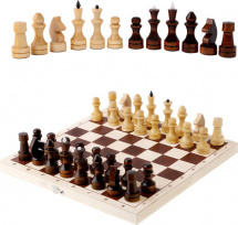 Шахматы Орловская ладья обиходные лакированнные