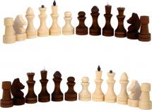 Шахматные фигуры Орловская ладья обиходные парафиновые
