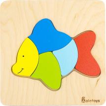 Пазл Alatoys Рыбка
