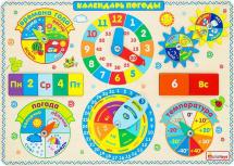 Бизиборд Alatoys Календарь погоды
