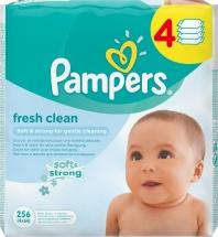 Влажные салфетки Pampers Baby Fresh Clean 256шт