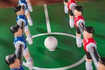 Настольный футбол Weekend Maccabi 140 x 75 x 89 складной, махагон