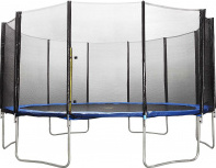 Батут Weekend DFC Trampoline Fitness 17 футов с сеткой, 518 см