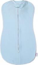 Пеленка-матрешка Пампусики на молнии 62 см, голубой
