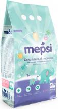 Стиральный порошок Mepsi на основе натурального мыла 2,4 кг