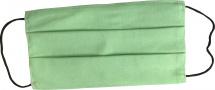 Маска защитная многоразовая, хлопковая, тканевая, зеленая