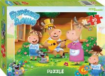Пазлы Steppuzzle Riki. Любимые сказки. Буренка Даша 35 элементов