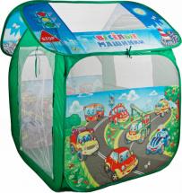 Игровая палатка Играем вместе Веселые машинки