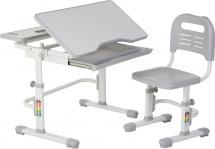 Парта-трансформер FunDesk Lavoro Grey + стул