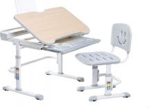 Парта-трансформер FunDesk Bellissima Grey + стул