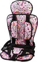 Автокресло бескаркасное Berry Стандарт 9-36 кг Love розовый
