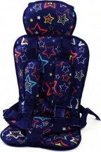 Автокресло бескаркасное Berry Стандарт 9-36 кг Звезды на синем