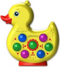 Музыкальная игрушка Азбукварик Веселушки Утенок