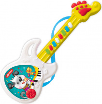 Веселая гитара Азбукварик, желтая