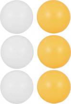 Мячики для настольного тенниса, 6 шт