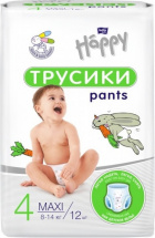 Трусики Bella Happy Maxi 4 (8-14 кг) 12 шт