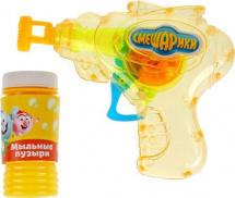 Пистолет для пускания мыльных пузырей Смешарики