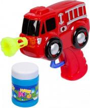 Мыльные пузыри Bondibon Пистолет-Пожарная машина 50 мл