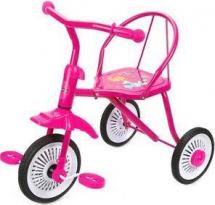 Велосипед трехколесный Moby Kids Друзья, розовый
