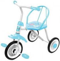 Велосипед трехколесный Moby Kids Друзья, голубой