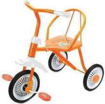 Велосипед трехколесный Moby Kids Друзья, оранжевый