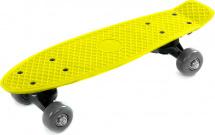 Скейтборд 41х12см, желтый 5+